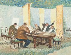 View The reading room by Harald Hansen Gallis Vike on artnet. Browse upcoming and past auction lots by Harald Hansen Gallis Vike. Reading Room, Past, Auction, Artist, Painting, Past Tense, Artists, Painting Art, Paintings