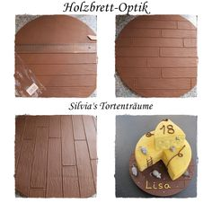 Holzbrett Optik Fondant Bretter Zaun Anleitung Tutorial  Infos: https://www.facebook.com/SilviasTortentraeume/posts/1073188326115488