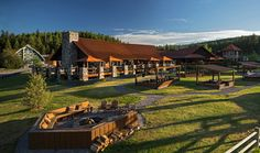 Paws Up - Montana Luxury Resort. I want to go here! This resort was visited on an RHONY episode. Gorgeous and peaceful resort!
