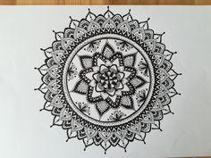 mandala. Done by me.