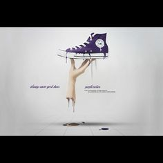 always wear good shoes, people notice