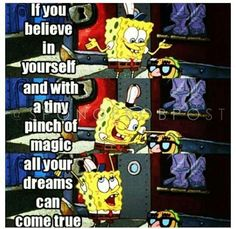 See? Even spongebob can be smart, considerate, and even inspirational.   Im not afraid to say that I know just about every word of this episode, its my favorite one! FUN  F is for friends who do stuff together U is for you and me N is for anywhere and anytime at all HERE IN THE DEEP BLUE SEE