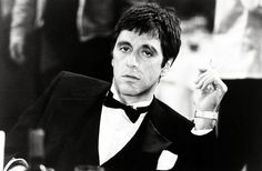 The X Gen — Al Pacino in Scarface (1983). Dir: Brian De Palma
