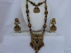 Navratri hand crafted antique Golden Oxidized finish by mfussion, $18.00