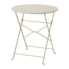 SALTHOLMEN Mesa ext IKEA La mesa viene premontada para que puedas empezar a usarla enseguida.