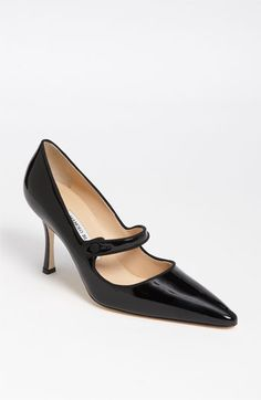 love these Mary Janes. They look like Manolo's.