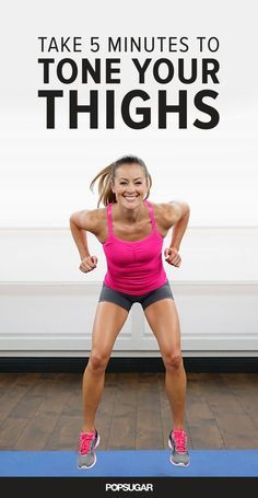 goodbye to cottage cheese thighs with this quick workout sequence that targets your upper legs.Say goodbye to cottage cheese thighs with this quick workout sequence that targets your upper legs. Fitness Workouts, Exercise Fitness, Lower Ab Workouts, Sport Fitness, Toning Workouts, Excercise, At Home Workouts, Fitness Motivation, Quick Workouts