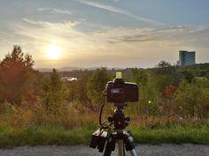 sunset timelapse at Wienerberg in Vienna Vienna, Canon, Sunset, Film, Bags, Movie, Handbags, Cannon, Film Stock