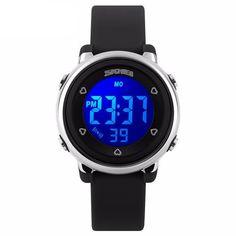 Women Sport Watch Men Kids LED Digital Watch Jelly Silicone Divering Sports Watches Children Waterproof Wristwatch