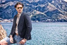 #eddicott #2015 #spring #summer #moda #fashion #men #uomo #glamour #style #dress #sun #sea #camicia #model #italy