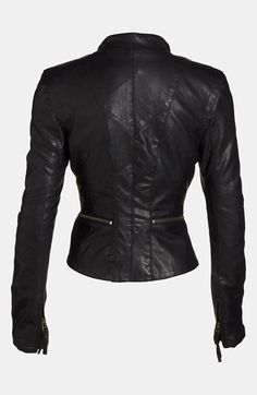 BLANKNYC Vegan Leather Jacket | (back)