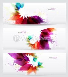 Цветочные векторных фон брошюру шаблон — Стоковая иллюстрация #11195115
