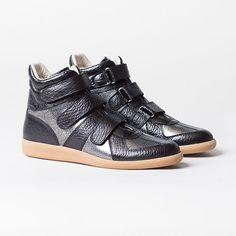 "Mason Martin Margiela ""Metallic Crackle Sneaker"" – Available Now"
