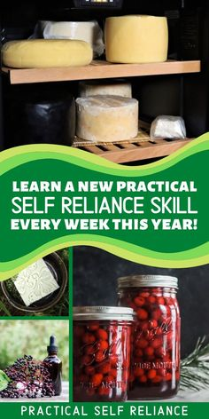 This is the perfect time to get back to basics and master new practical self reliance skills. This year, I'm going to put out a new beginner's guide each week, with everything you'll need to know to get started with a new skill. Have you always wanted to lean how to preserve food with canning, grow a garden, bake homemade bread, forage wild food or heal with herbs? You're in the right place! Wilderness Survival, Survival Prepping, Survival Skills, How To Make Lye, Prune Fruit, Pickles Recipe, Growing Mushrooms, Primitive Survival, Instant Recipes