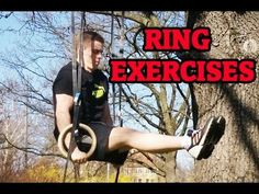 Ring Exercises - Total Body Workout - YouTube Basic Ring Moves.. nothing crazy.