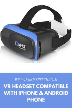 """Make sure this fits by entering your model number. ✅ PERFECT GIFT FOR KIDS & ADULTS – Premium VR set present for father's day, Halloween, Easter, Christmas, Black Friday, Cyber Monday sale. Virtual reality VR glasses for kids. Compatible with smartphones and other mobile phone devices with a 4″-6.3"""" screen to bring you a totally immersive visual 360 experience. with an eBook #vr #vrheadset #iphone #android Virtual Reality Goggles, Father Presents, Vr Headset, Digital Trends, Best Mobile, Mobile Game, Cyber Monday, Gifts For Kids, Black Friday"""