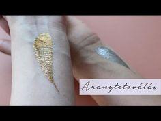 Aranytetoválás készítése | AvianaRahl