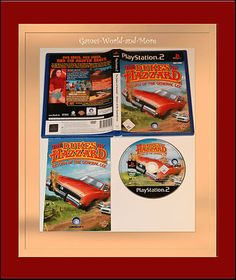 The Dukes of Hazzard für Playstation2,PS2,in OVP!Ansehen!