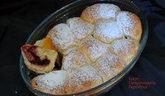Αφράτα ψωμάκια γεμιστά με μαρμελάδα - cretangastronomy.gr