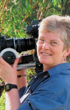 Jan Kenny ACS, first woman to shoot a feature in Australia (FRAN, 1985). #Cinematography