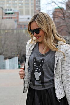 french bulldog tee | Until life slows down (is that even a thing?!), I'll be getting my ...