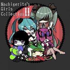 Tags:Machigerita,Hatsune Miku, Vocaloid, Megurine Luka, GUMI