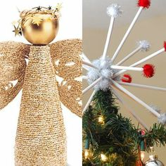 Find hundreds of Disney-inspired art and craft ideas for kids of all ages including holiday and seasonal crafts, decorations and more. Diy Christmas Tree Topper, Xmas Tree Toppers, Christmas Wine, Merry Little Christmas, Winter Christmas, Christmas Crafts, Christmas Ornaments, Christmas Ideas, Xmas Decorations
