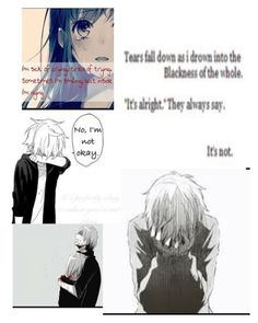 """""""I'm Not Ok"""" by wonderlandishome ❤ liked on Polyvore featuring art"""