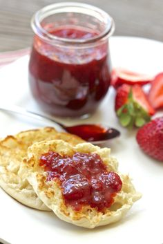 Small Batch Strawberry-Vanilla Jam is the best way to preserve summer berries.  http://aredbinder.com/2017/06/small-batch-strawberry-vanilla-jam.html