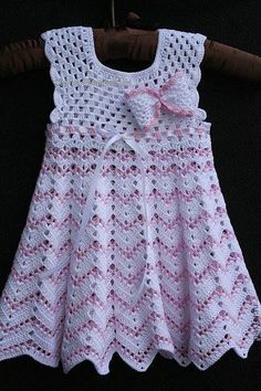 Fan mesh baby dress pattern crochet free baby dress crochet pattern more great looks like this salvabraniPattern with braided net for baby clothes. Free crochet pattern for baby clothes. Knit Baby Dress, Crochet Baby Clothes, Baby Girl Crochet, Crochet Dresses, Crochet Toddler, Dress Patterns Uk, Baby Clothes Patterns, Blanket Patterns, Pattern Dress