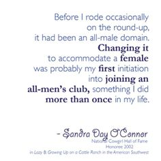 Inspiring quote from Cowgirl Hall of Fame Honoree Sandra Day O'Connor Country Life Quotes, Country Girl Life, Country Girls, Country Living, Cowboy Quotes, Cowgirl Quote, Geek Humor, Funny Geek, Rider Quotes