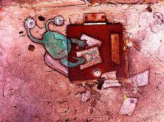 """Sidewalk art by David Zinn   Made by streetartist """"david zinn"""" - #streetart #aryz - Click for more streetart"""