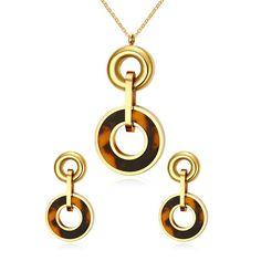 SAN - dámsky set, oceľ + kameň, náušnice, prívesok, retiazka v darčekovom balení Washer Necklace, Jewelry, Jewlery, Jewerly, Schmuck, Jewels, Jewelery, Fine Jewelry, Jewel
