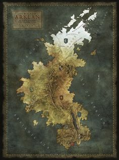 The Realms of Arklan by Max on Cartographers Guild