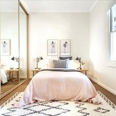 Bedroom Ideas for Small Rooms On A Budget . 38 Luxury Bedroom Ideas for Small Rooms On A Budget . 54 Awesome Master Bedroom Ideas A Bud Diy How to Bedroom Apartment, Home Bedroom, Apartment Living, Budget Bedroom, Apartment Design, Living Room, Couples Apartment, Apartment Interior, Night Bedroom