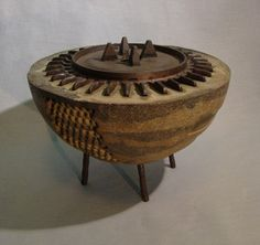 EARLY MODEL  A Large Concrete and Metal by TheCeremonialHome, $790.00