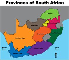 South Africa Free Map Free Blank Map Free Outline Map Free - Map of south africa