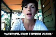 Over 300 videos featuring native Spanish speakers from 15 Spanish speaking countries.  A plethora of topics.