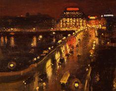 """""""Le Pont- Neuf la nuit"""" – Albert Marquet"""