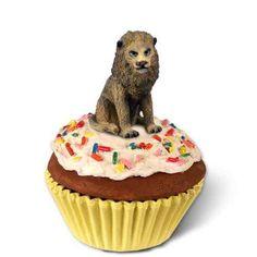 Lion Cupcake Trinket Box