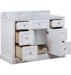 Classique Single Vanity with Rectangle Basin
