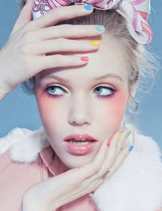 Sweet inspiration from these candy coloured fashion snaps by Joanna Kustra | Creative Boom Blog | Art, Design, Creativity