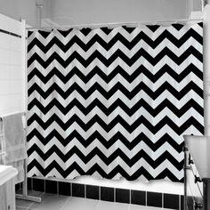Schwarz Weiß Wohnzimmer Einrichten Weiss Schwarz Duschvorhang