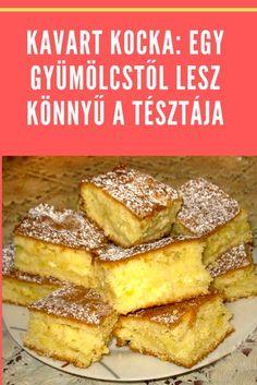 Hungarian Desserts, Hungarian Cake, Hungarian Recipes, Special Recipes, Garlic Bread, Winter Food, Cake Cookies, Tofu, Food To Make