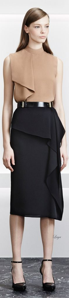 Jason Wu Pre-Fall 2015 | women fashion outfit clothing style apparel @roressclothes closet ideas
