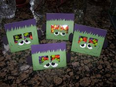 Frankie Halloween Treat holder by megstrebe - Cards and Paper Crafts at Splitcoaststampers