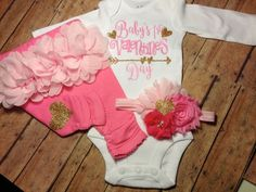 Baby, Girl, Outfit, Baby Valentineu0027s Day, Onesie