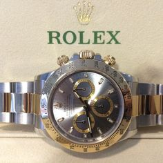 Another fantastic preowned deal on this 2010 bimetal Rolex Daytona