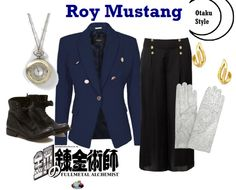 Roy Mustang outfit