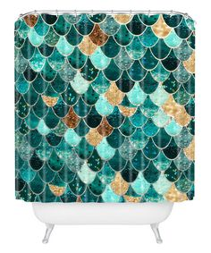 Another great find on #zulily! Really Mermaid Shower Curtain for my mermaid bathroom!!! #zulilyfinds